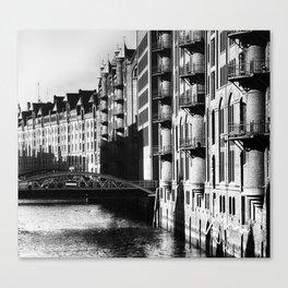 Speicherstadt V Canvas Print