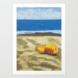 Orange CP Art Print