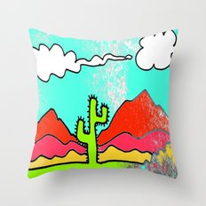 w e s t e r n t h o t Throw Pillow