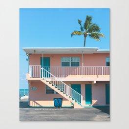 The Breezy Palms Canvas Print
