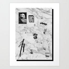 SOIREE GRAPHIQUE #5 Art Print