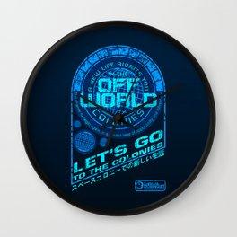 Off World Wall Clock