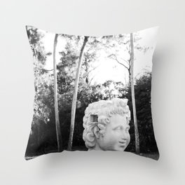 The Lone Head Throw Pillow