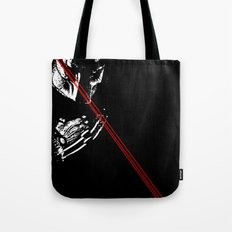 Predator black and white Tote Bag