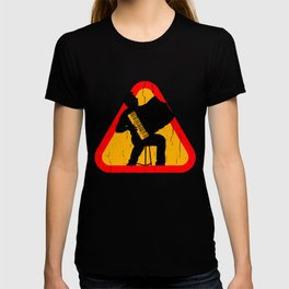 Accordion Silhouette T-shirt