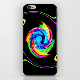 Abstract perfection -100 iPhone Skin