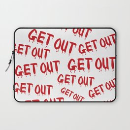 Get Out Horror House Laptop Sleeve