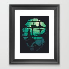 Future Shock Framed Art Print