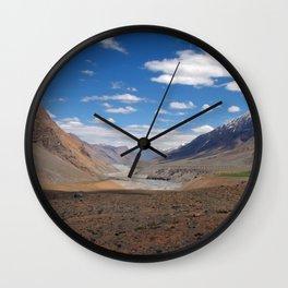 Spiti River Spiti Valley Wall Clock