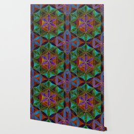 The Flower of Life (Sacred Geometry) 2 Wallpaper
