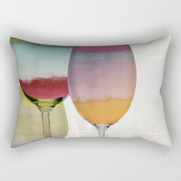 Prism Wine Rectangular Pillow