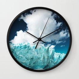 perito moreno glacier Wall Clock
