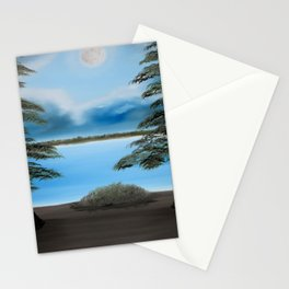 Moonlight on the Trace Stationery Cards