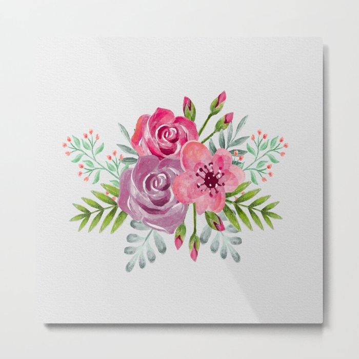 Flowers -a7 Metal Print