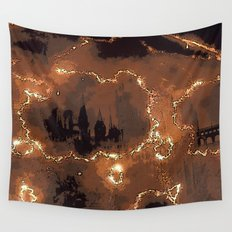 Harry Potter - The Forcefield Breaks Wall Tapestry