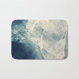 Ice Blue Surf Bath Mat