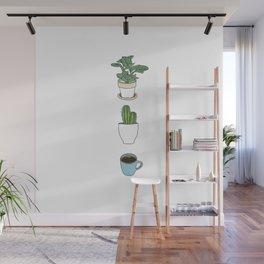 Plants Cactus & Coffee Wall Mural