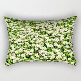 Field of daisy flowers Rectangular Pillow