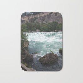 White Water Walk Bath Mat