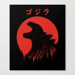 Kaiju Regeneration Canvas Print