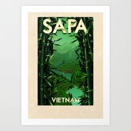 Vietnam - Sapa Art Print