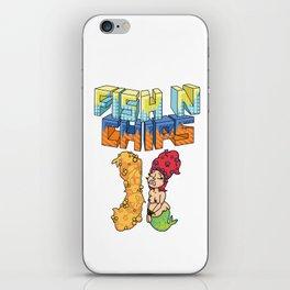 Fish n chips iPhone Skin