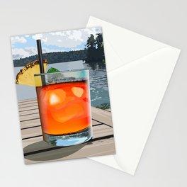 Lake Mai Tai Stationery Cards