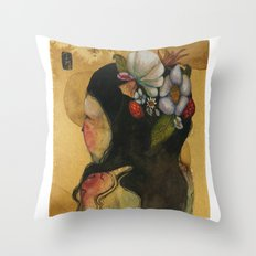 Floral Baby Throw Pillow