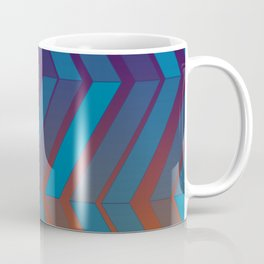 "Geometric print ""Bi-fold"" Coffee Mug"