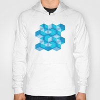 escher Hoodies featuring Escher #009 by rob art | simple