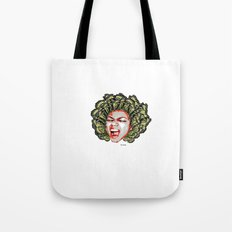Butterfly Head Tote Bag