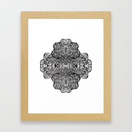 Paisley, Illustration, Ink Drawing Framed Art Print