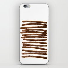 Pretzel Stix Lineup iPhone & iPod Skin