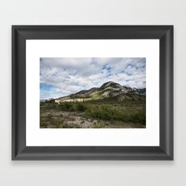 Green Rolling Hills Framed Art Print
