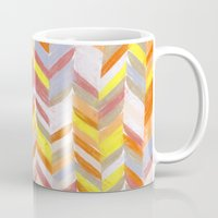blanket Mugs featuring Blanket by Tonya Doughty