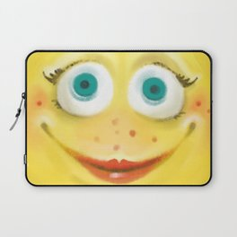 Just Smile :) Laptop Sleeve