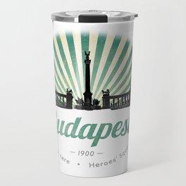 Hősök tere - Heroes' Square - Budapest, Hungary Travel Mug
