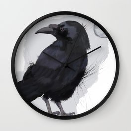 A Raven, Nothing More Wall Clock
