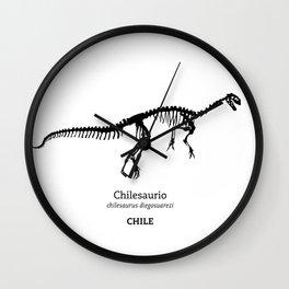 Chilesaurio Wall Clock