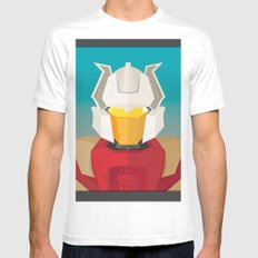 Chromedome MTMTE Mens Fitted Tee White MEDIUM