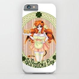 St Patty's Maid iPhone Case