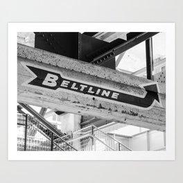 Atlanta Beltline Kunstdrucke
