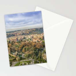 Vatican Gardens Aerial View, Rome, Italy Stationery Cards