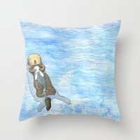 kozyndan Throw Pillows featuring Embrace 3 by kozyndan