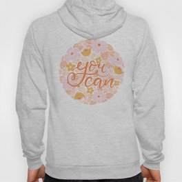 You can - hand lettering Hoody