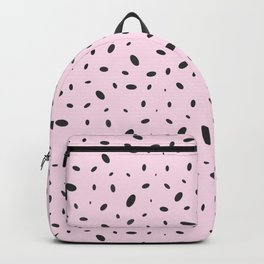 Bubble Pattern on Pink Backpack