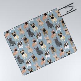 French Bulldog Picnic Blanket