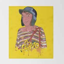 El Chavo del Ocho - Chespirito  Throw Blanket