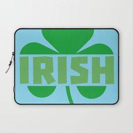 Irish cloverleaf shamrock B9t2d Laptop Sleeve