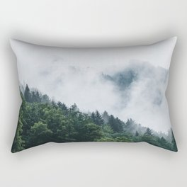 Moody Forest Rectangular Pillow